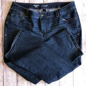 Lane Bryant jeans distinctly boot cut size 22